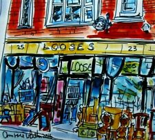 Digital Print of Looses Vintage Store Norwich by Ann Marie Whitton