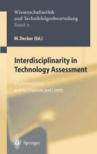 Ethics of Science and Technology Assessment: Interdisciplinarity in...
