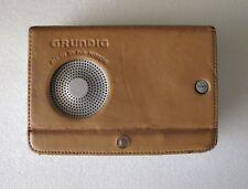 Radio Grundig YB-P2000 ( Design by F.A. Porsche ) & its leather cover