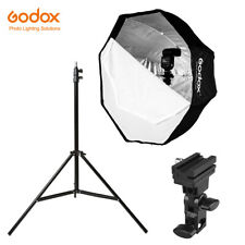 Godox 80cm Octagon Umbrella Softbox kit with 2m Light stand and Hot Shoe Bracket