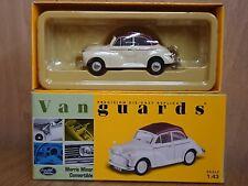 Corgi VA07100 Morris Minor Convertible Cream/Maroon Ltd Edition No. 1466 of 6500