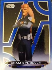 2017 Star Wars Galactic Files Reborn #REB-12 Cham Syndulla BLUE
