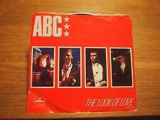 "ABC LOOK OF LOVE / THEME FROM MANTRAP US 7"" VINYL PS Single 1982 Mercury 76168"