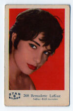 1960s Swedish Film Star Card Star Bilder B #268 French Actress Bernadette Lafont