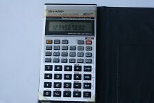 Vintage Sharp Scientific Handheld Calculator EL-506A Made in Japan - New Battery