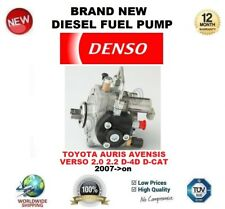 DENSO DIESEL FUEL PUMP for TOYOTA AURIS AVENSIS VERSO 2.0 2.2 D-4D D-CAT 2007-on