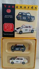 VANGUARDS 1:43 MINI COOPER S & ALLARDETTE ANGLIA HISTORIC RALLY SET HI1002
