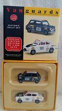 Vanguards 1:43 Mini Cooper S & Allardette Anglia Historic Rally Set HI1002