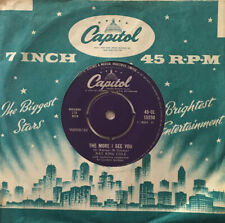 """Nat King Cole - The More I See You - 7"""" Ex"""