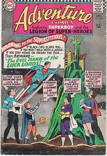 Dc Adventure Comics #343 (Apr. 1966) Superboy and Legion of Superheroes! Wow!