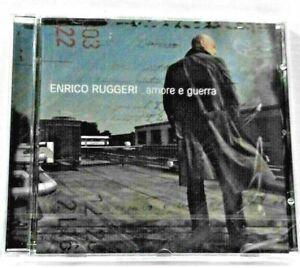 Enrico RUGGERI  -    Amore e Guerra   (CD  NUOVO  e  SIGILLATO / Jewel case)