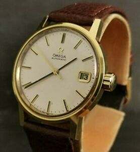 Gents Vintage Omega,  Automatic. Cal 1010. Gold Plated.