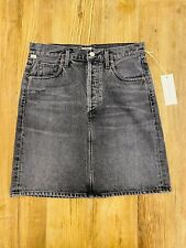 Citizens Of Humanity Lorelle Skirt 'Greyscale' Womens Size 27