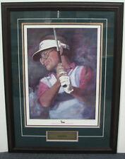 Tom Kite Texas Golf Greats Framed Lithograph
