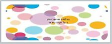 Personalized Address Labels Polka Dots Buy 3 get 1 Free (bo 737)