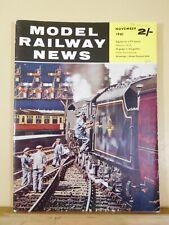 Model Railway News 1961 November Signals TT Newport IOW Great Central 2-8-0 draw