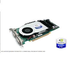 HP nVidia QUADRO FX3400 256MB Dual DVI Workstation GPU 366650-001 365891-003