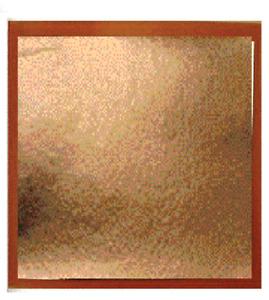 100 x imitation rose Gold Leaf Sheets. Art Crafts Design Gilding Framing 8cm