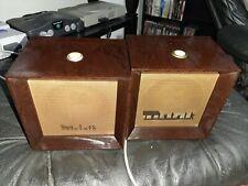 Vintage Pair Webster Electric Teletalk Intercom Speakers