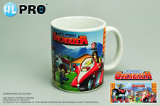 "Grendizer Goldorak CERAMIC MUG ""Grendizer & Duke Fleed on Bike"" MANGA Robot NEW"