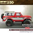 "1/10 Scale Ranger XLT Hard ABS Body ( 313mm WB ) FREE "" F O R D "" Metal emblem"