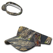 Hybricam Camo Golf Tennis Mossy Camouflage Sun Military Visor Tactical Cap Hat