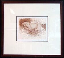 GGuillaume Azoulay Camarque St II Signed Fine Art Etching Horse SUBMIT BEST OFFE