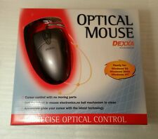 Logitec/Dexxa  PS/2 Optical Mouse, retail, New, Shipping Same Day!!!