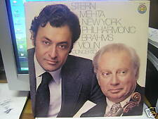 VintageClassical LP-STERN,MEHTA NY PHILHR- Brahms Violin....................SALE