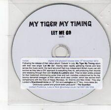 (DV206) My Tiger My Timing, Let Me Go - 2012 DJ CD