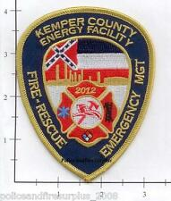 Mississippi - Kemper County Energy Facility Fire Rescue MS Fire Dept Patch