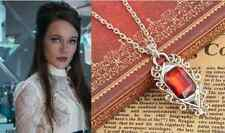 Film The Mortal Instruments City of Bones Isabelle Lightwood's Ruby Necklace Hot