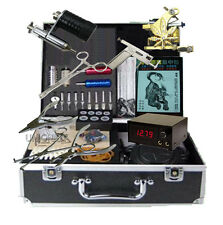 New Tattoo machine complete set with body piercing kit supply