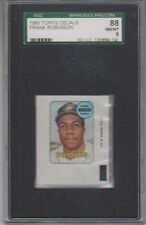 1969 Topps Decals Frank Robinson SGC 8 NM/MT