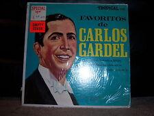 """Tropical TRLP-5151 Carlos Gardel - Favoritos de 1950's 12"""" 33 RPM"""