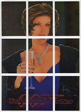 James Bond Tomorrow Never Dies Chase/Insert Teri Hatcher 9 card set T1-T9 Puzzle
