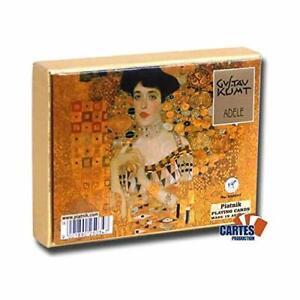 Piatnik 2503 Klimt - Adele Card Game 2 x 55-Piece