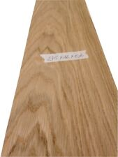 "Oak veneer - 2750mm x 160mm /  108.2"" x 6.2""     Natural Wood Veneer"