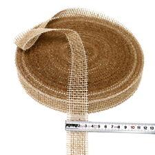 Juteband natur hart, 30mm breit - 40 Meter, Nice Price ***