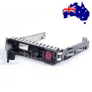 """2.5"""" SFF SAS SATA HDD Tray Caddy for HP G8 Gen8 651687-001 651699-001 DL380p G9"""