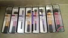 Real Techniques Lot 8 Makeup Brushes Expert Face Stippling Blush Powder Setting