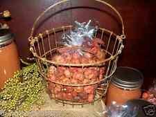 3 Heaping Scoops of Primitive ORANGE Pumpkin / Putka Pods ~ country Bowl Fillers