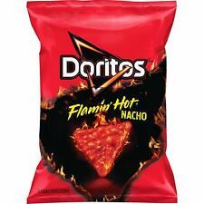Doritos Flamin' Hot Nacho Flavor Tortilla Chips 9.75 oz (3 Bags)