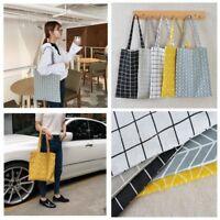 Canvas Shopping Handbag Shoulder Tote Satchel Eco Messenger Bag Square Star bag