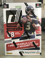 Lot of 2 2020 NFL Donruss Football Blaster Boxes SEALED & In Hand Quick Ship