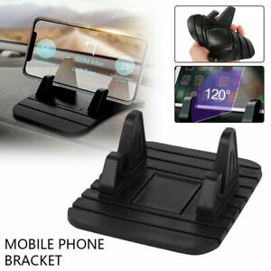 Car Dashboard Non-slip Mat Rubber Mount Holder Pad Mobile Phone Stand Accessory