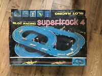 1970's Slot Car Super Track 4 Slot Racing Goodyear  Cars Vintage Super Rare!!