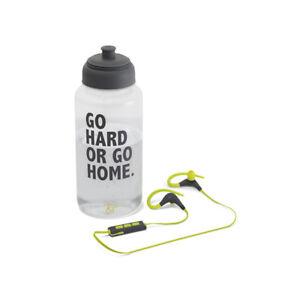 New Kitsound RACE Sports Bluetooth Wireless Earphones with Mic + Water Bottle