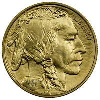 Random Date 1 oz  .9999 Gold American Buffalo $50 BU Coin SKU40538