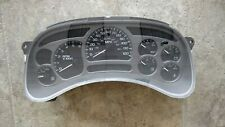 Rebuilt Sierra Silverado Denali Yukon Speedometer Gauge Cluster 03 04 166k miles